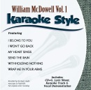 Karaoke Style: William McDowell Vol. 1
