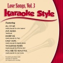 Karaoke Style:  Love Songs Vol. 3