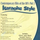 Karaoke Style: Contemporary Hits of the 80's, Vol. 1