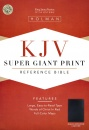 KJV Reference Bible: Giant Print | Imitation Leather | Black