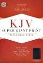 KJV Reference Bible: Giant Print | Imitation Leather | Black