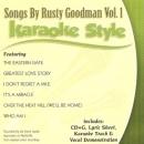 Karaoke Style: Songs By Rusty Goodman, Vol. 1